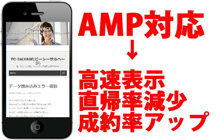 AMP対応サイト